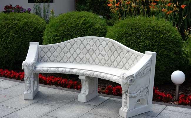 meble ogrodowe z betonu.